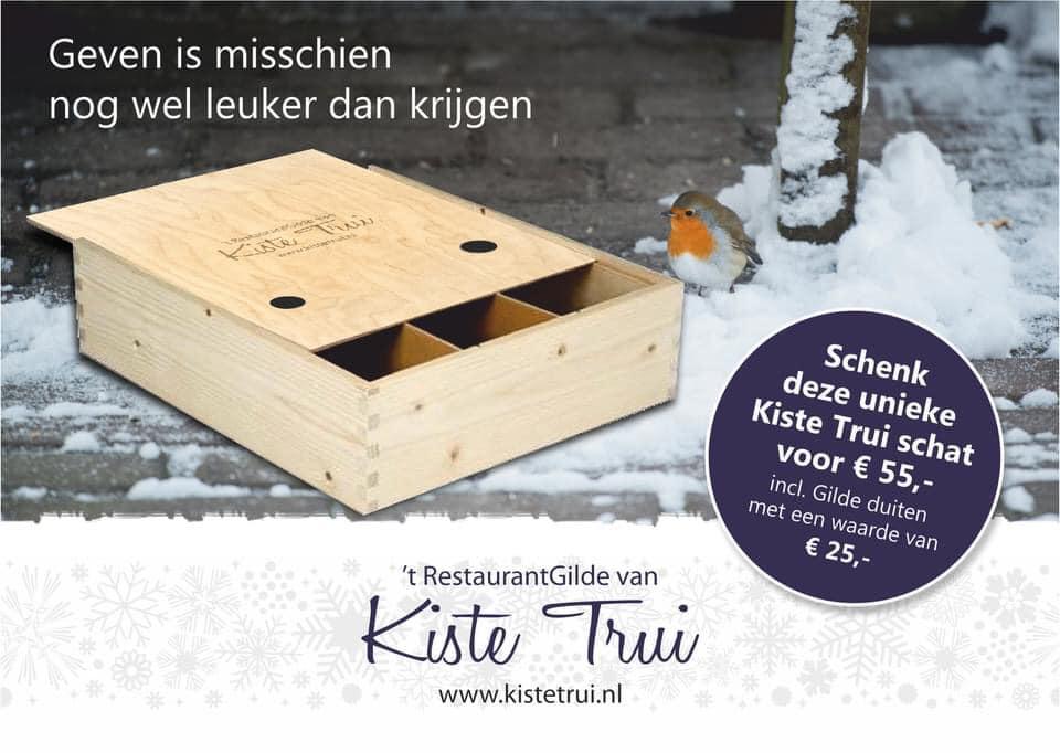 Kerstpakketten Herberg Restaurant 't Zwaantje